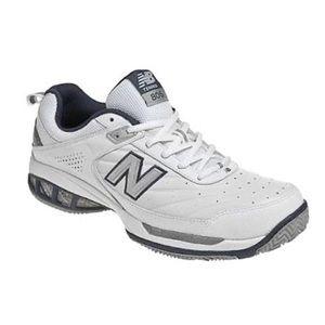 New Balance 806 Tennis Court White Shoes men's 10